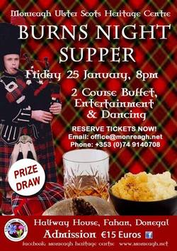 Monreagh Burns Night Supper picture