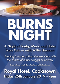 Burns Night - Royal Hotel, Cookstown picture
