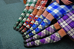 Knitting Pattern For Highland Dance Socks : Donegal Highland Dance Competition