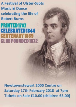 A Festival of Ulster-Scots Music & Dance celebrating the life of Robert Burns picture