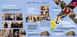 Spring Season of Events at the Discover Ulster-Scots Centre picture