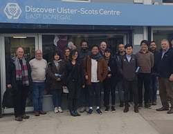 Harvard Students research trip to Raphoe  picture