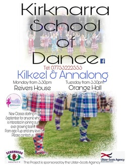 Mourne Highland Dance classes kick of this September picture