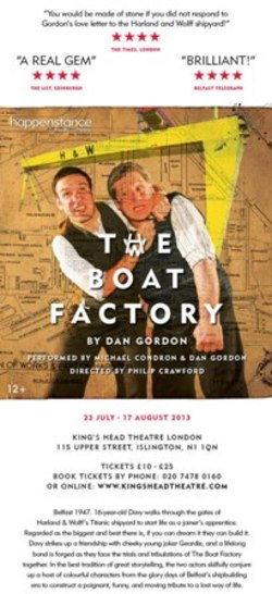 The Boat Factory Heads to London picture