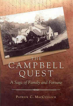 Launch of 'The Campbell Quest' by Patrick C MacCulloch picture