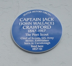 Ulster History Circle Blue Plaque for 'Captain Jack' picture