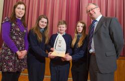Ulster-Scots Flagship Award Presented to Drumcorrin National School, Monaghan picture