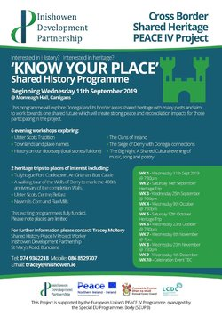 Join Inishowen Development Partnership in Monreagh picture
