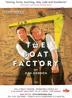 'The Boat Factory' by Dan Gordon – Edinburgh bound picture