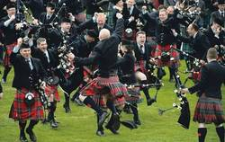 Field Marshal Montgomery Pipe Band win their 9th World Championship picture