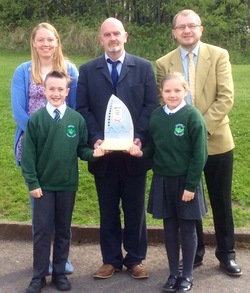 Oakfield Primary School Receives Flagship Status picture