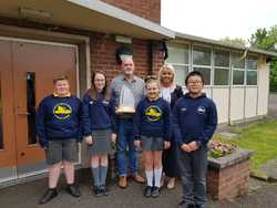 Ulster-Scots Flagship Award for William Pinkerton Memorial Primary School picture