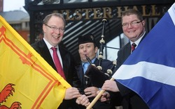 St Andrew's Day launch for Burns Night Special picture