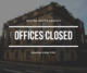 May Day Office Closure