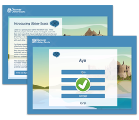 Test your knowledge of Ulster-Scots using this online resource